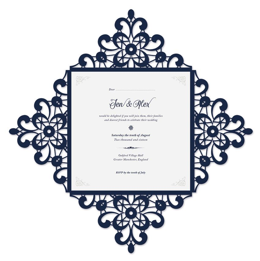 how to create a laser cut wedding invitation in illustrator and