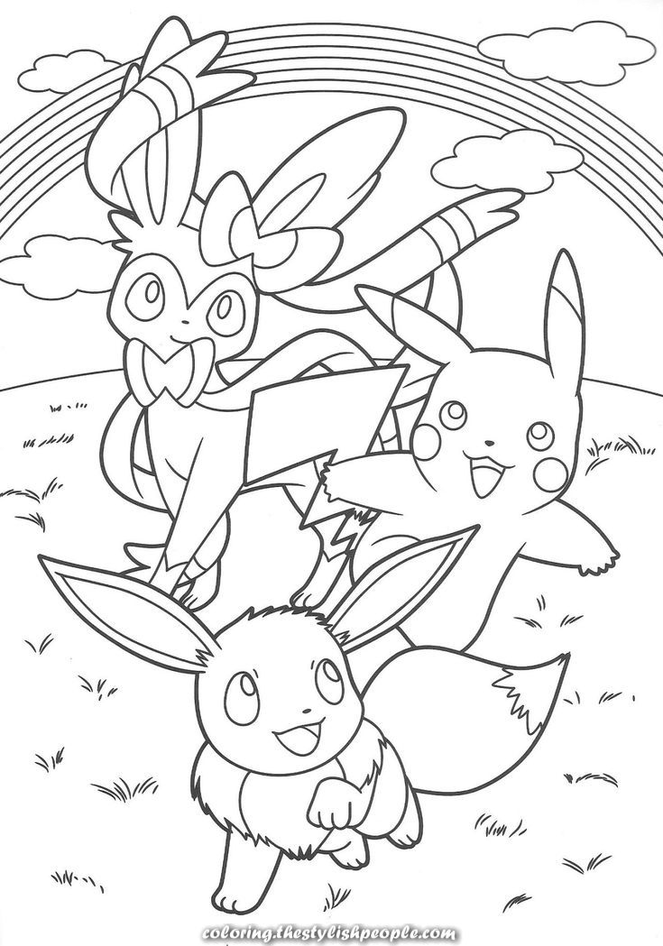 35++ Cute eevee pokemon coloring pages ideas
