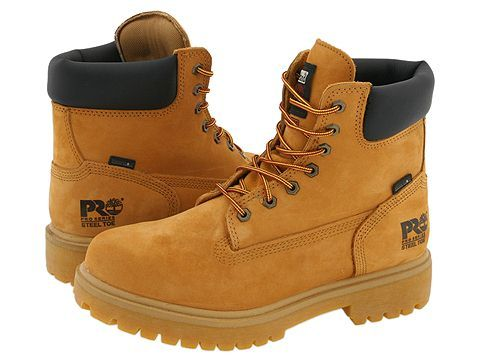 da59596604b Timberland PRO Direct Attach 6 Steel Toe Men's Work Lace-up Boots ...