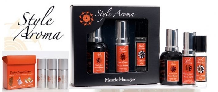 Muscle Manager Kit by Style Aroma, Perfect for sport, travel to give you the edge. Skincare - Fragrant Earth International