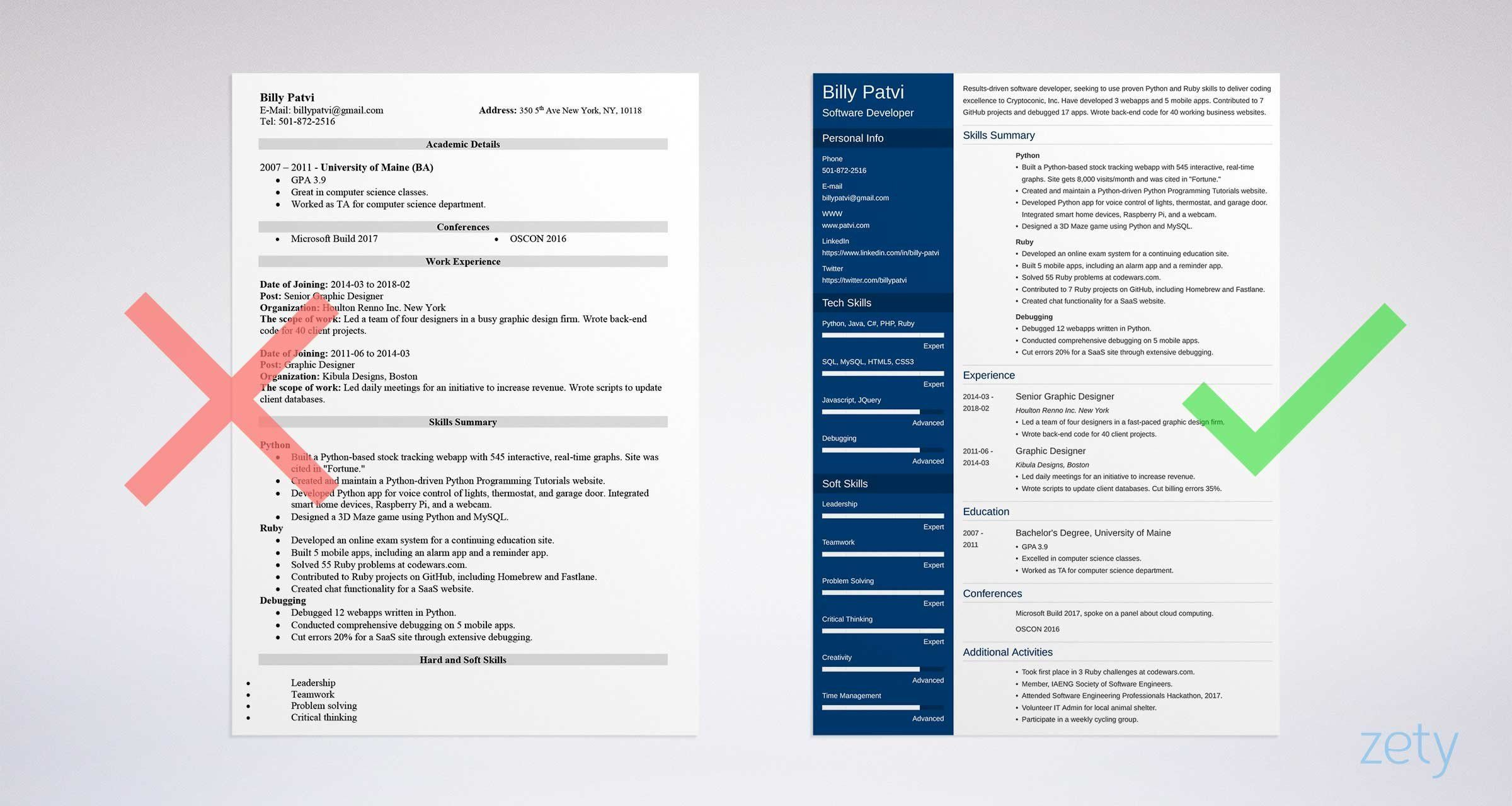 Resume for career change with no experience welldesigned