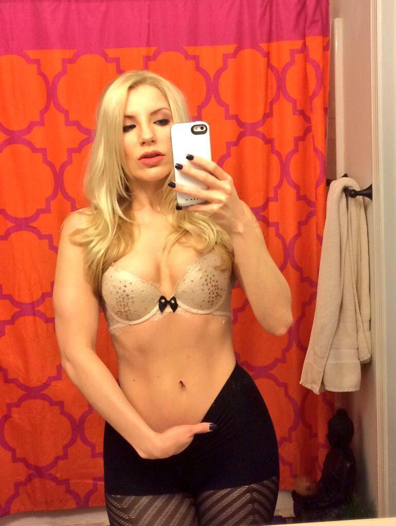 Ashley Fire Naughty Mirror Selfie