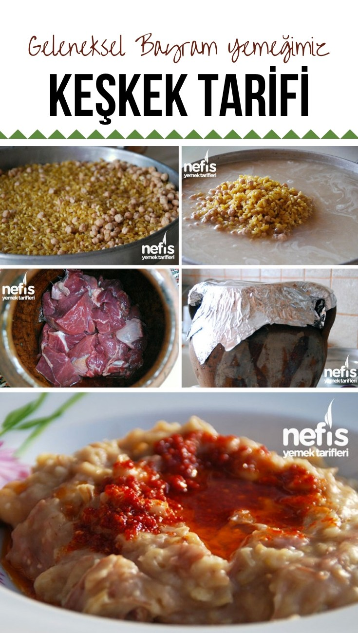 Photo of Keşkek Recipe – Our Traditional Feast Food – Delicious Food Ta …
