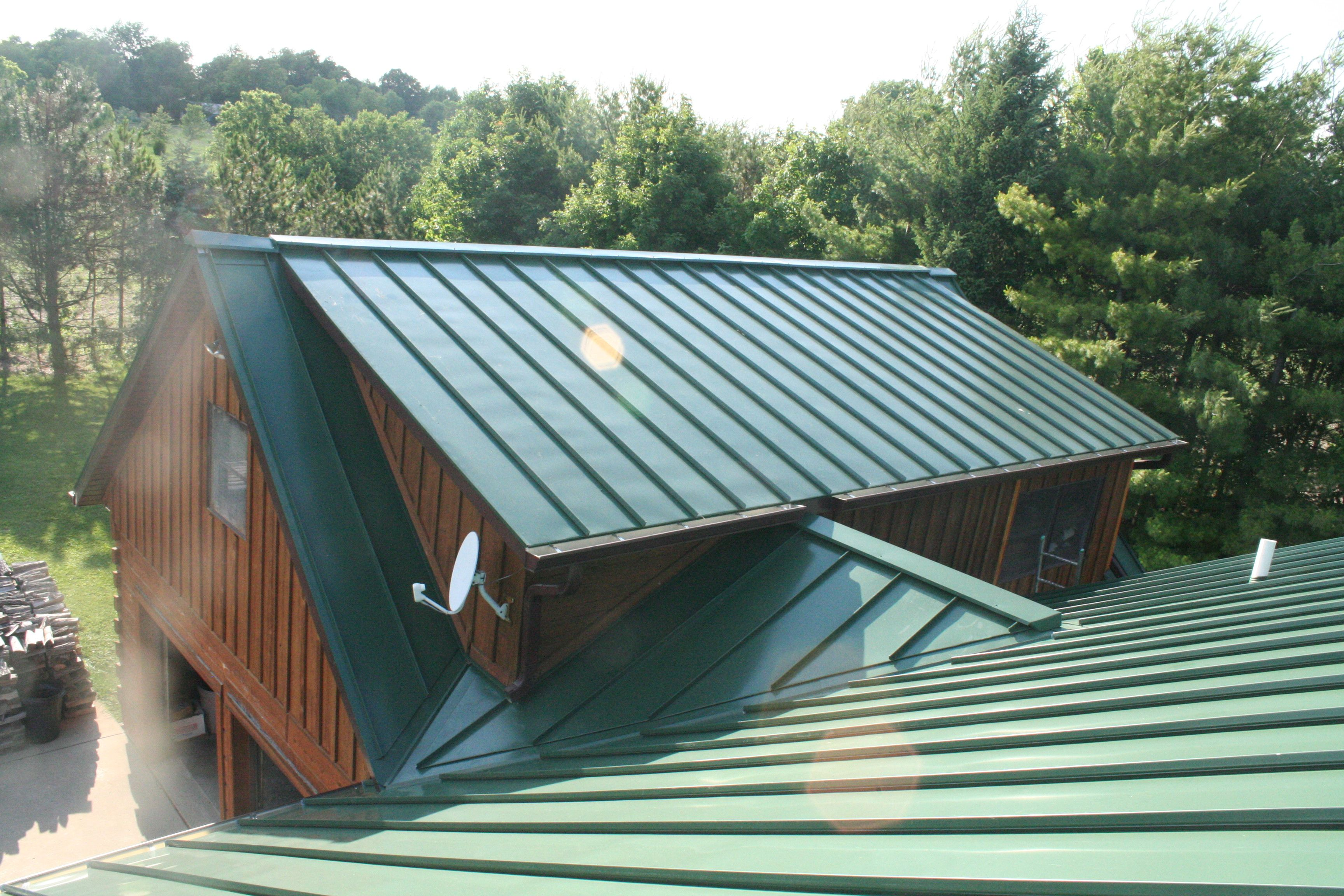 Forest Green Standing Seam Westfield In Standing Seam Metal Roof Roofing