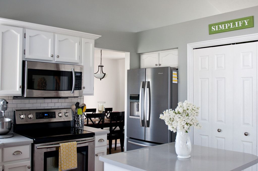 Sherwin williams argos proposed paint color for kitchen - Paint colors for living room and kitchen ...