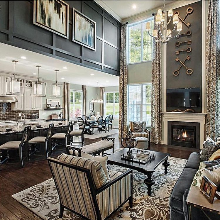 Model Home Interior Decorating: Loving Those Keys Above The Fireplace ...