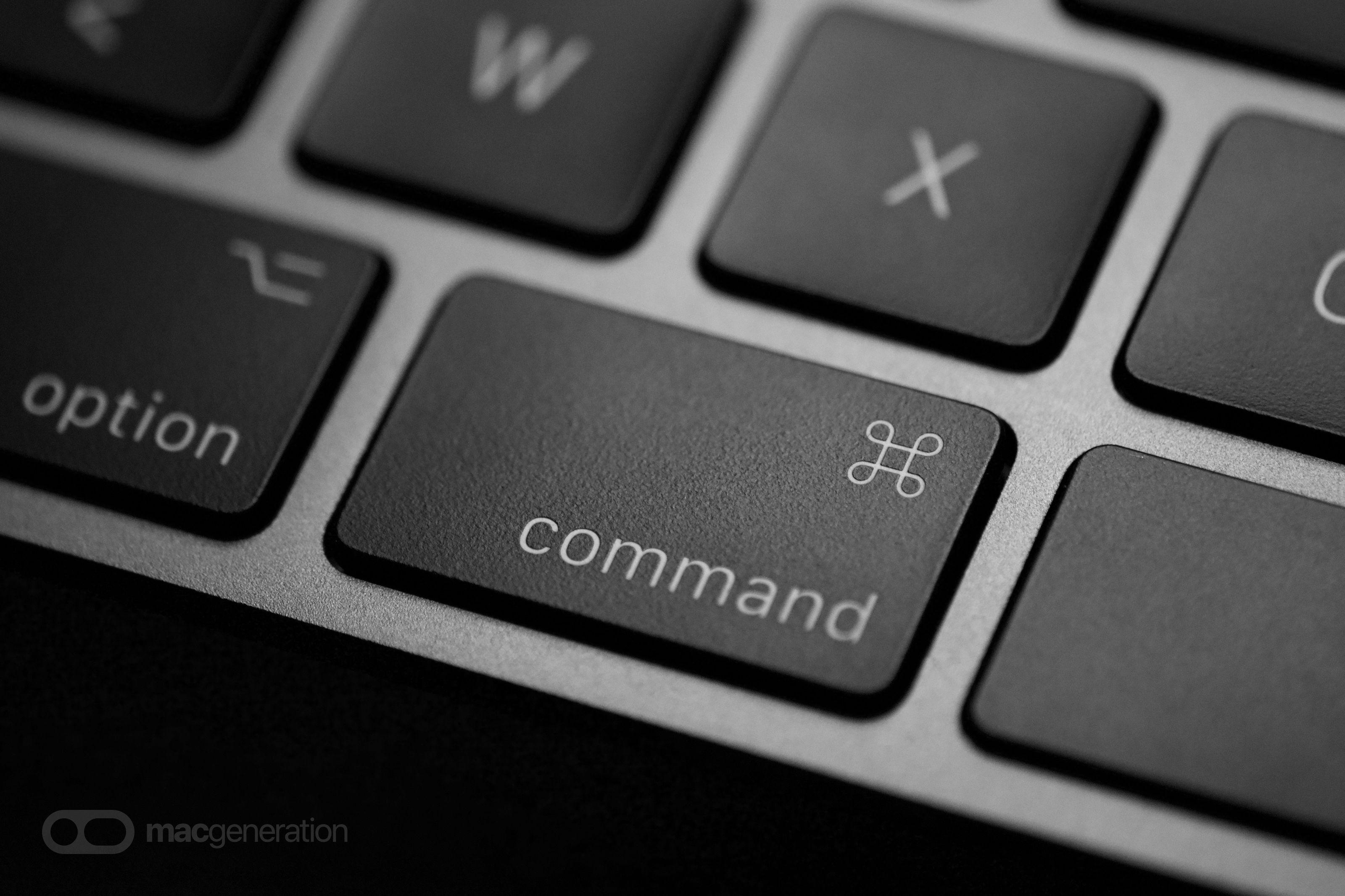 D'où vient la touche ⌘ (Commande) de nos claviers ? en 2020