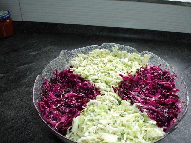 Krautsalat superschnell und superlecker !!! #beefhealthyrecipes