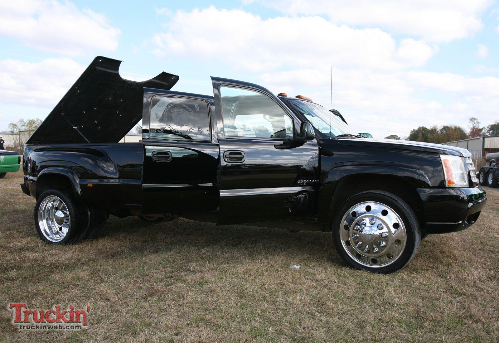 2010 Turkey Drag Truck Show Chevy Silverado 3500 Dually Photo 34