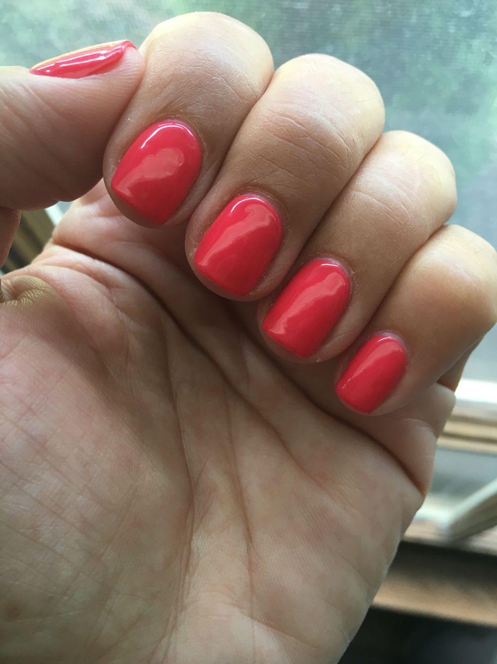 OPI she\'s a bad muffuletta | My Gel Nails | Pinterest | OPI, Opi red ...
