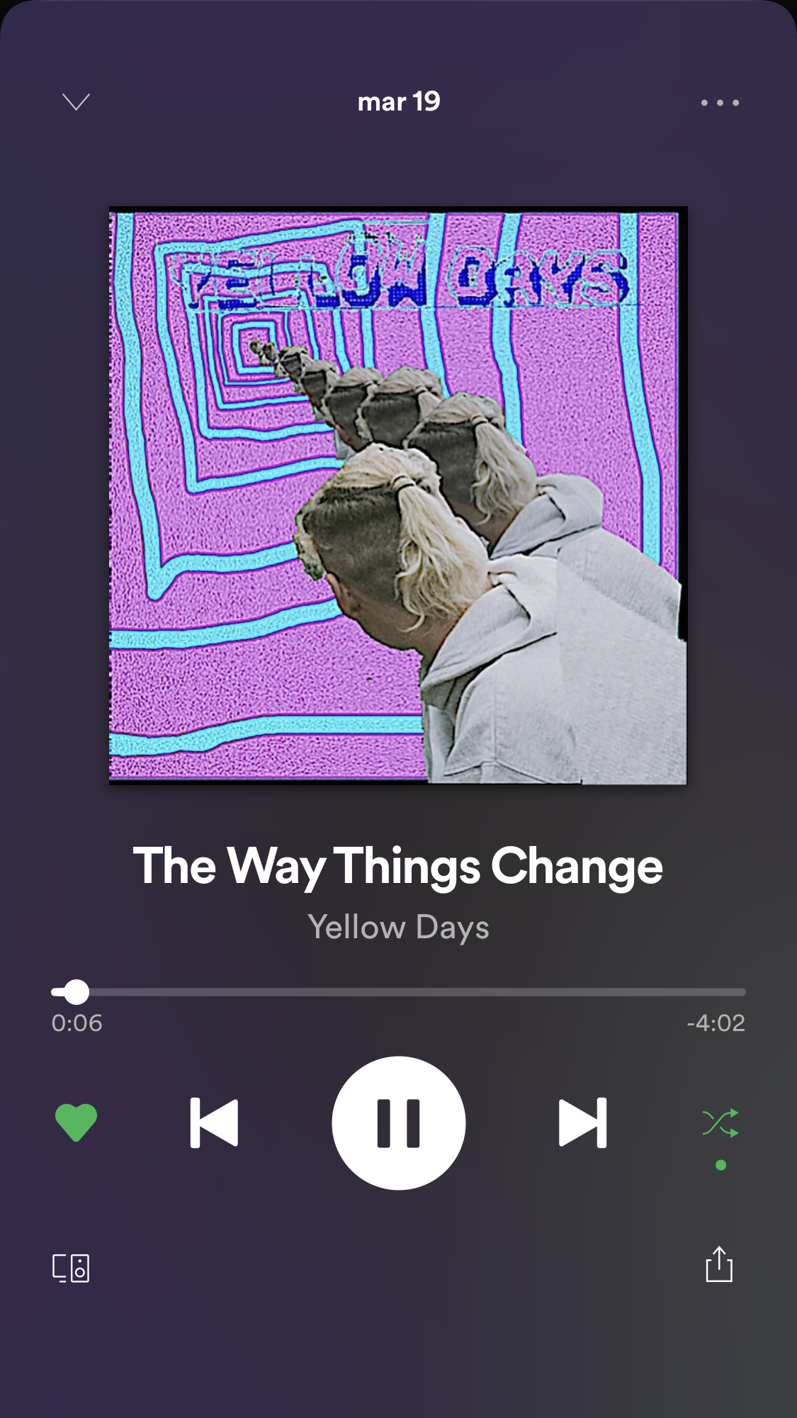 The Way Things Change Yellow Days Juliana Perez105 On Spotify Spotify Music Vibe Song Songs