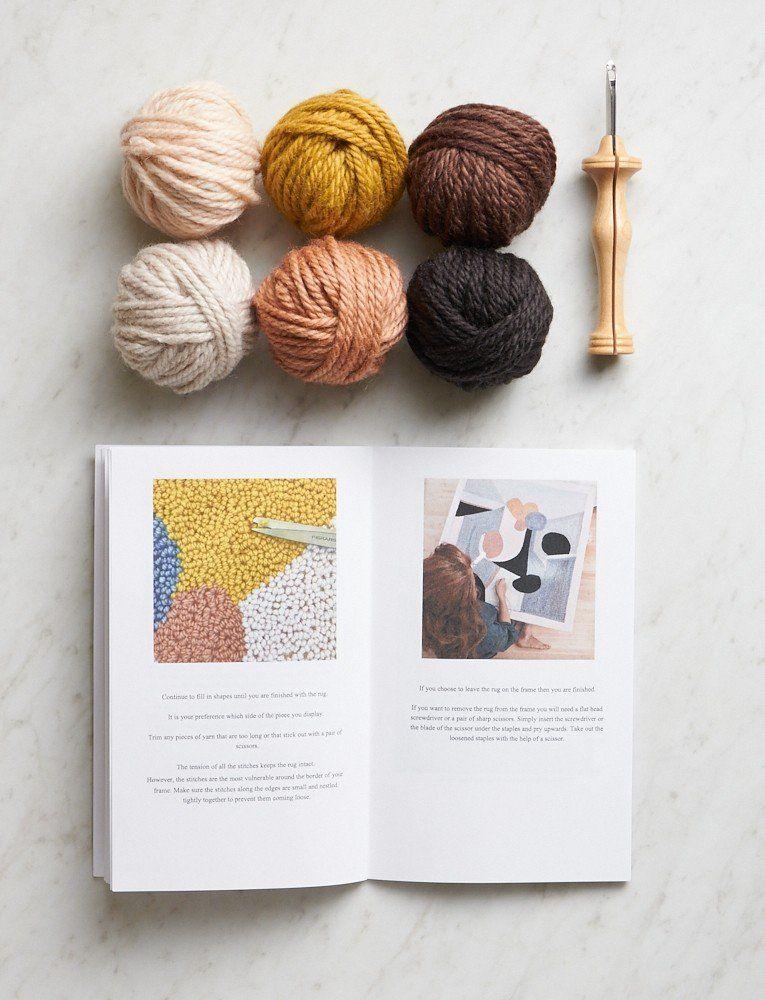 Object-Art Rug Hooking Kit