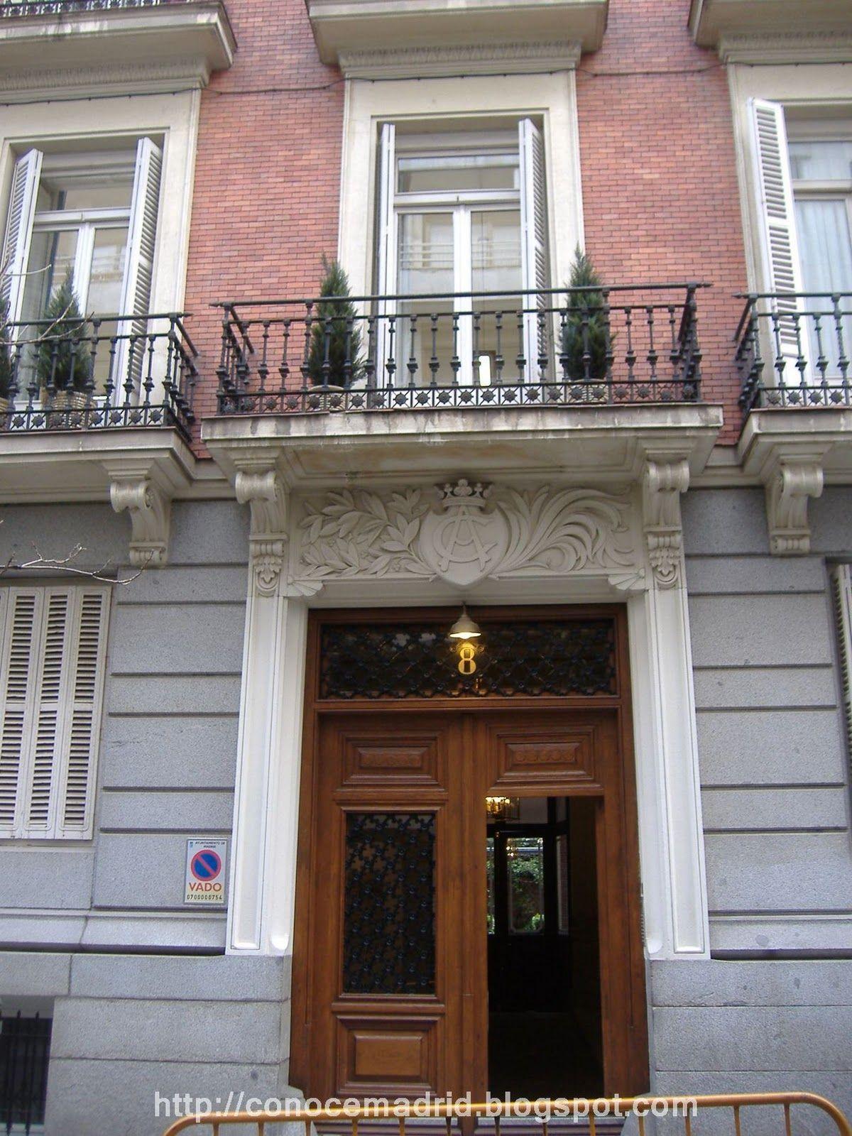 Casa palacio del marqu s de casa arnau de mariano cardelera 1896 calle monte esquinza - Muebles mariano madrid ...