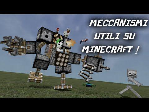 Tutorial Minecraft Meccanismi Utili Ponti Farm Trappole