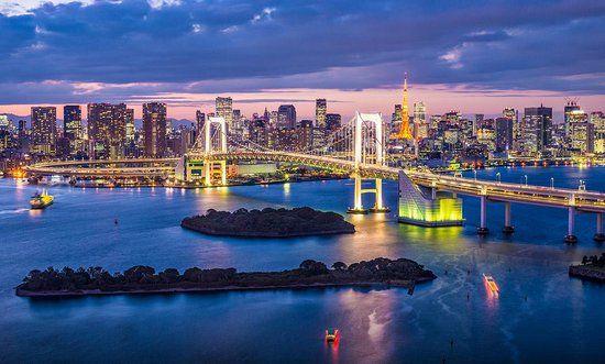 Minato Japan Skyline Paisaje Japon 4k Ultra Hd Wallpapers