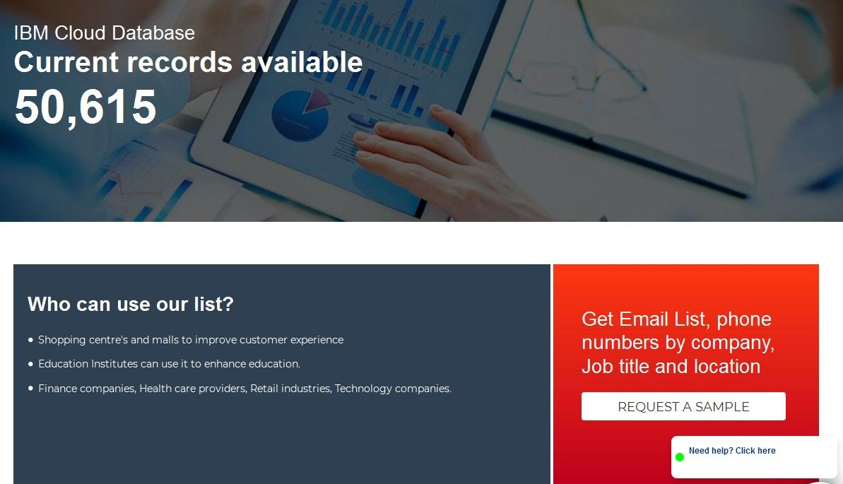 Https Www Ampliz Com Ibm Cloud Users List Your Ibm Cloud Users Email List Will Take The Shortest Time To Create And De Education Jobs Ibm Sales And Marketing
