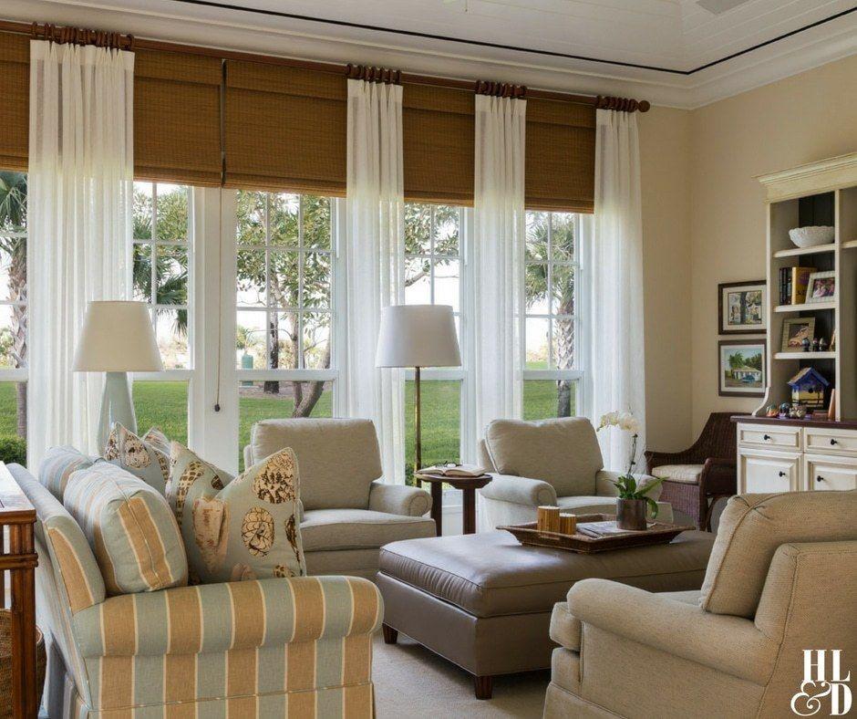 courtyard splendor  casual living room decor family room