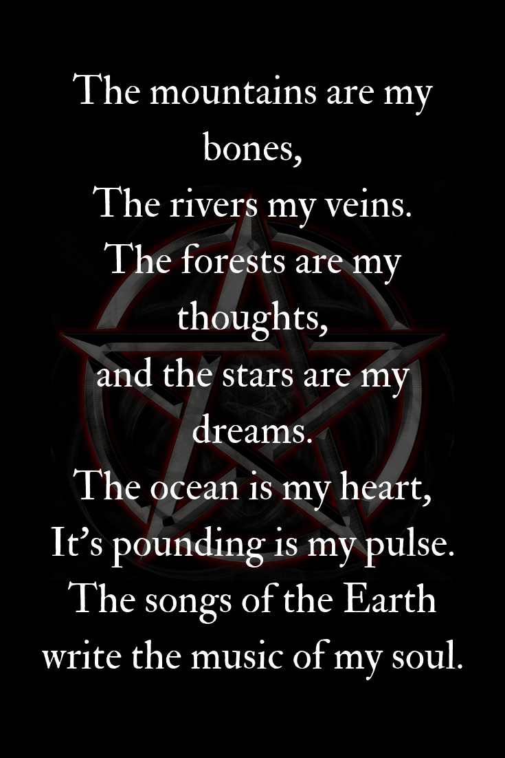 Pagan Earth Quote
