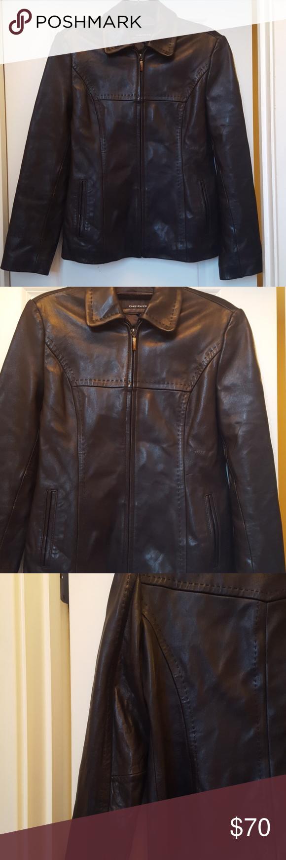 Jones New York Leather Jacket Leather Jacket Jones New York Clothes Design [ 1740 x 580 Pixel ]