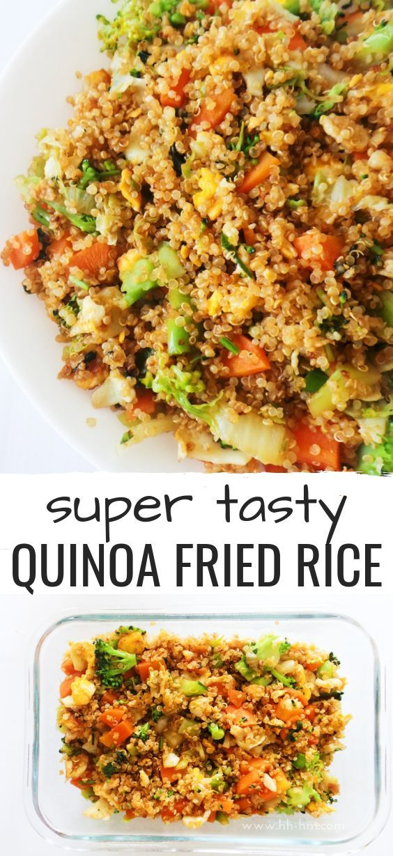 15-Minute Quinoa Fried Rice -