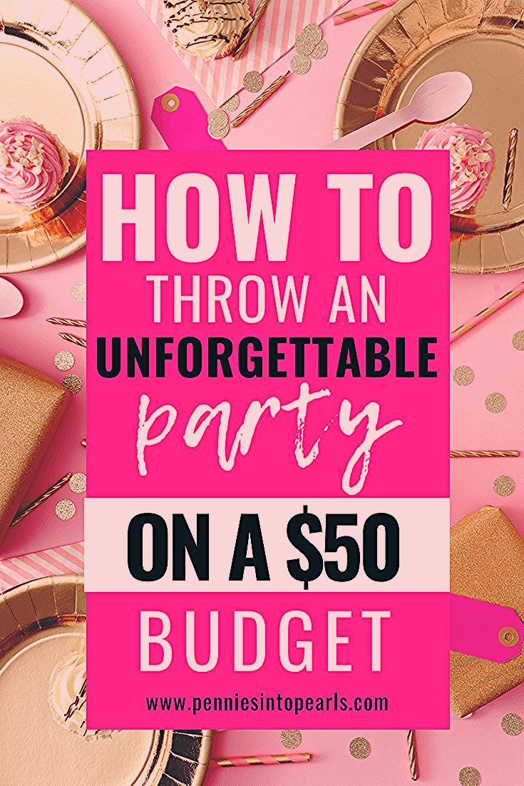 Photo of 13 Brilliant Tips for DIY Party Planning on a Budget – Pennies into Pearls