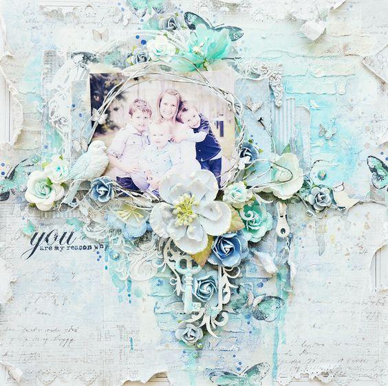 Pin de Nadine Carlier en Scrapbook Layout Inspiration | Pinterest