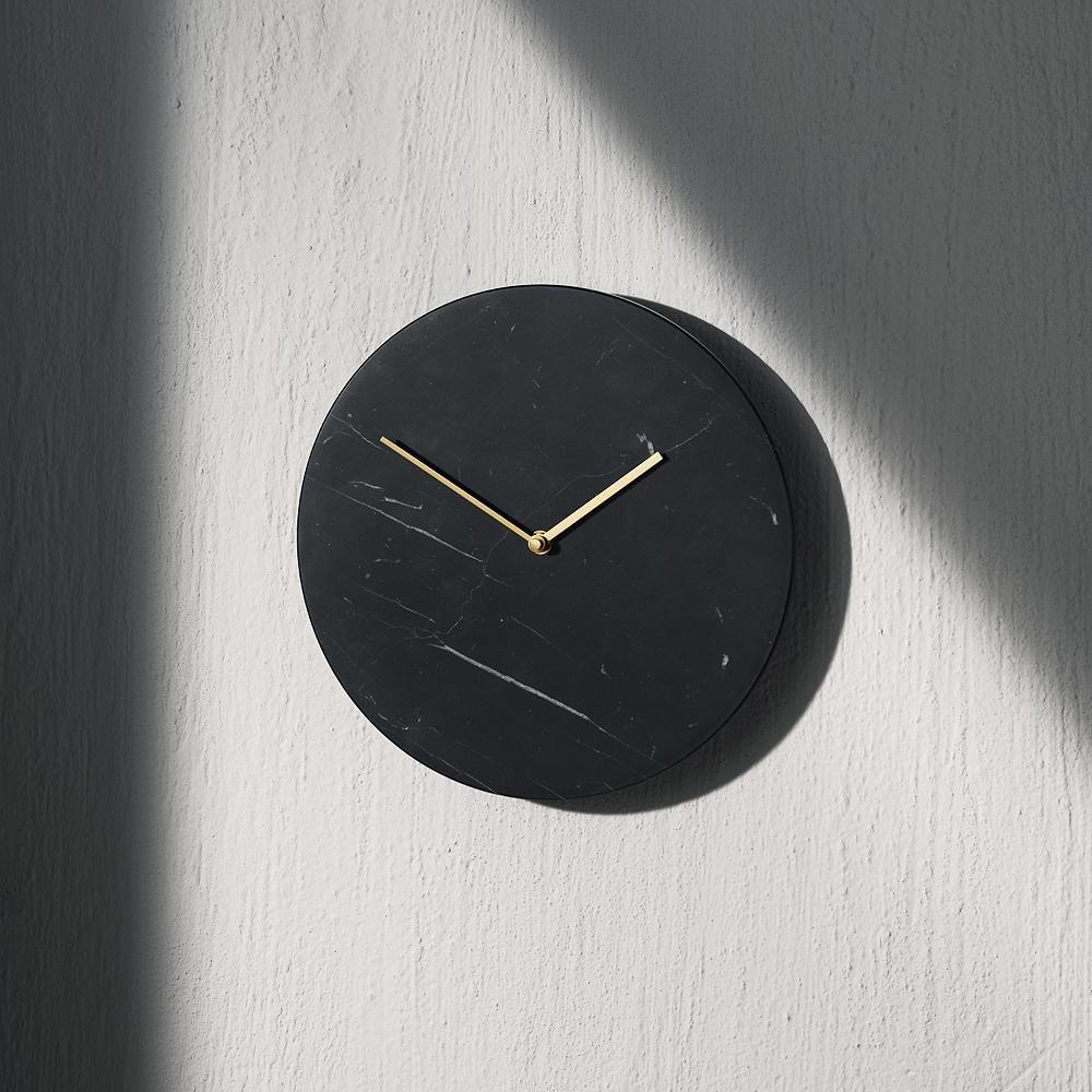 Marble Wall Clock In 2020 Clock Marble Wall Wall Clock
