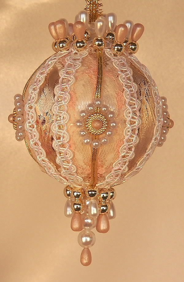 Victorian Style Christmas Ornament. One Of My Momu0027s Favourite Crafts For Us  When I Was