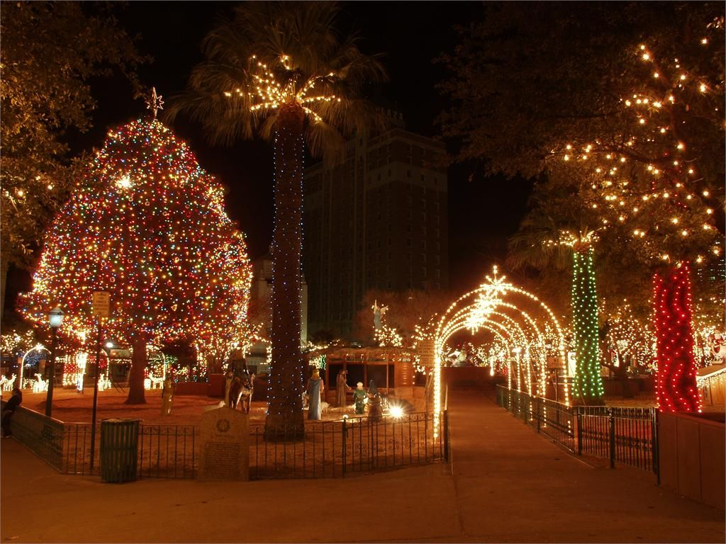 Downtown during the Christmas Holiday Season http//scott
