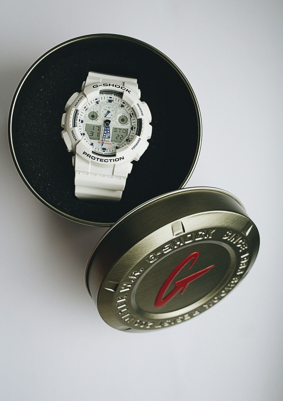 G-shock #white #gshock #watches #13th #smlle #13th_art
