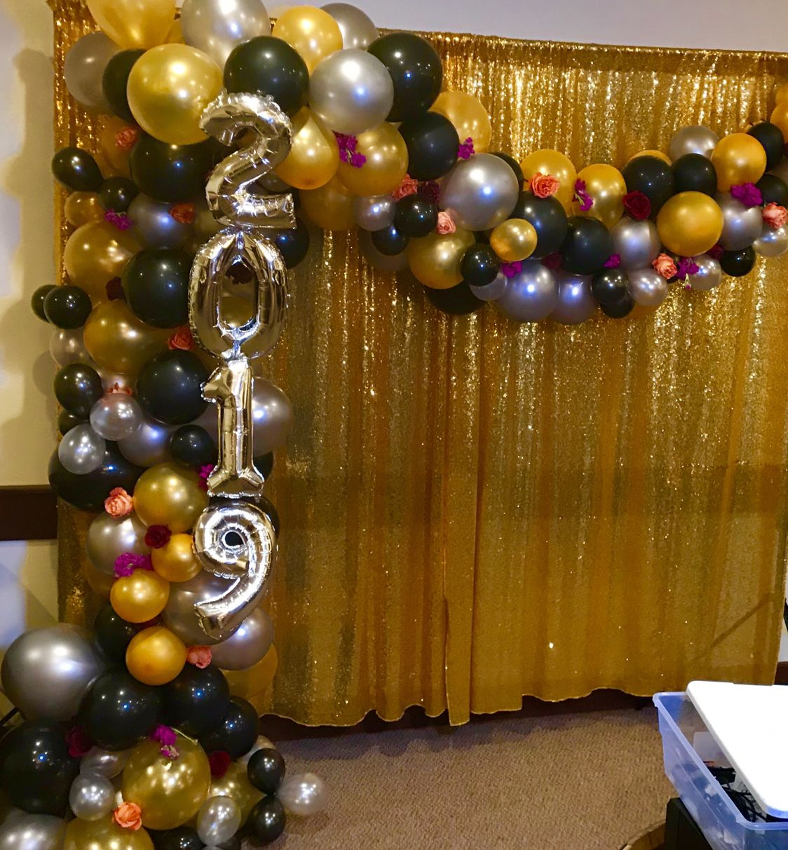 NYE Balloon Ideas! NYE Party Ideas! Flowers And Balloons