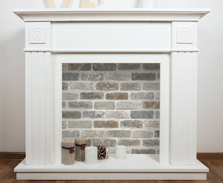 Wallpaper Peel And Stick Brick Peel And Stick Wallpaper Etsy Faux Fireplace Diy Faux Brick Brick Wallpaper