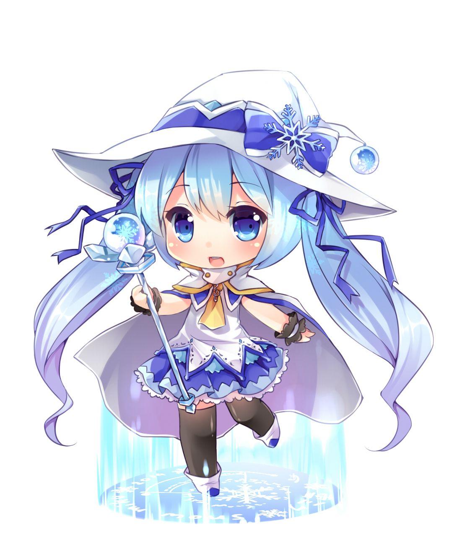 Magic Snow Miku | chibi | Pinterest | Manga, El más lindo y Arte de ...