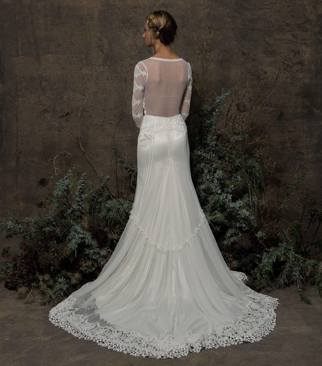 Olga Lace Gown   Свадебное платье   Dresses, Wedding ...