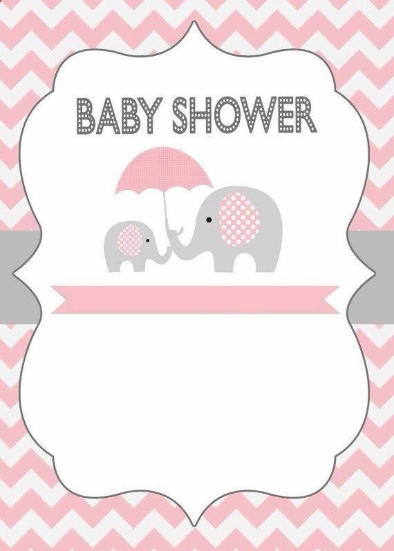 Invitación baby shower elefantitos | Formatos | Pinterest | Baby ...