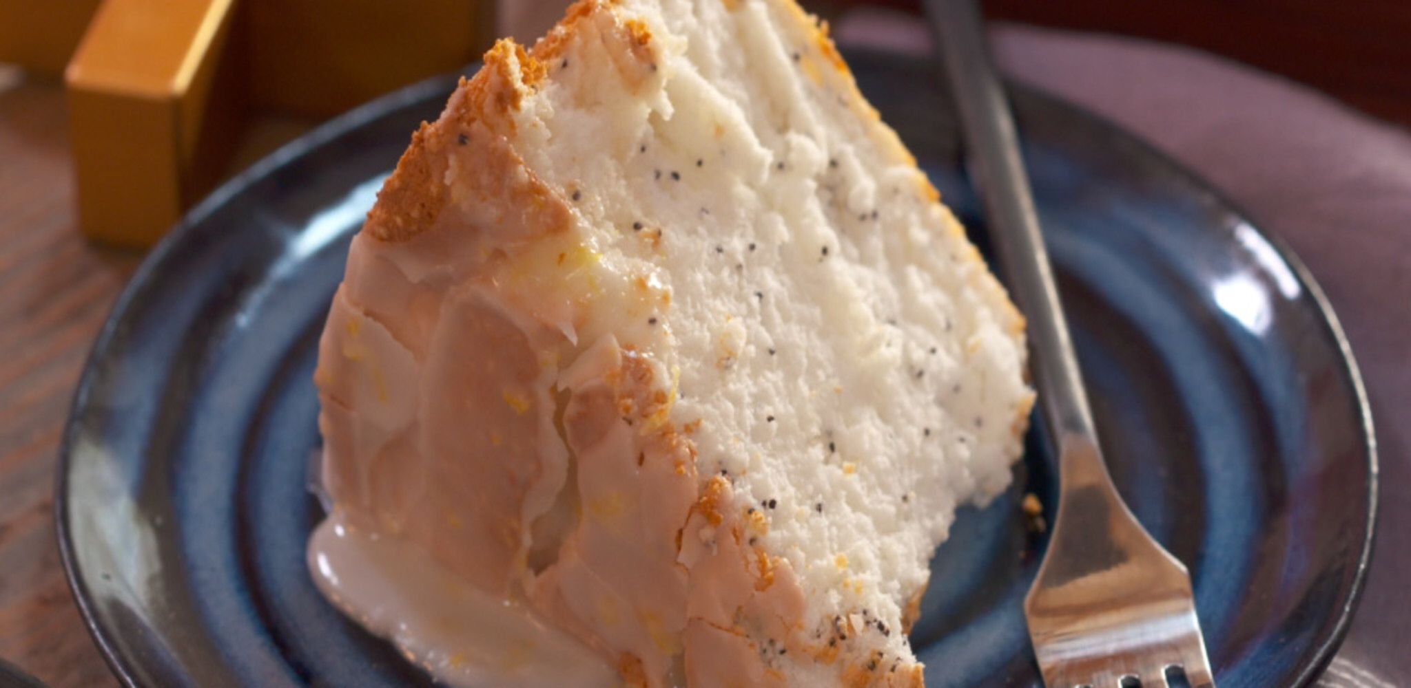 Poppy Seed And Lemon Angel Food Cake Recipe In 2020 Cake