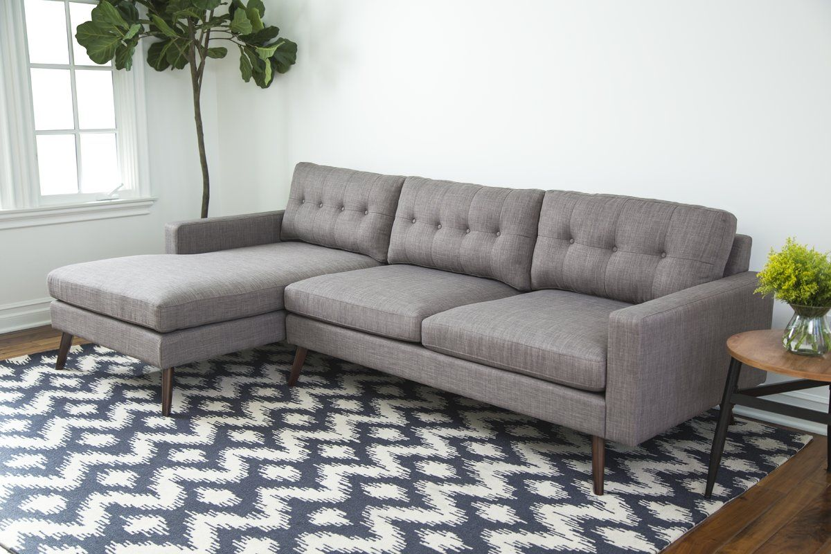 Bakken Reversible Sectional Sectional Sectional Sofa Sectional Sofa Couch