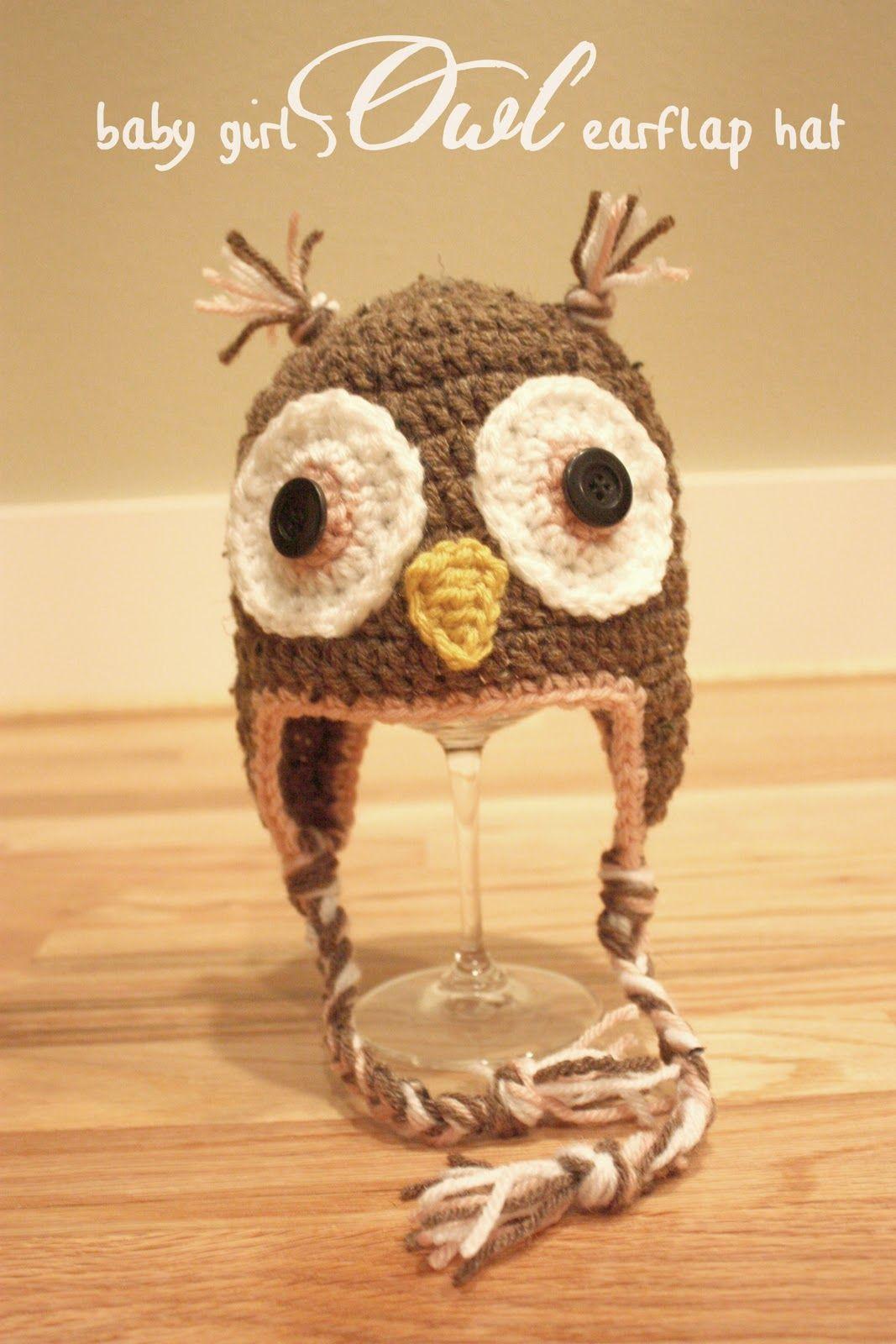 Repeat Crafter Me: Crochet Owl Hats @Emily Schoenfeld Mavroudis for ...