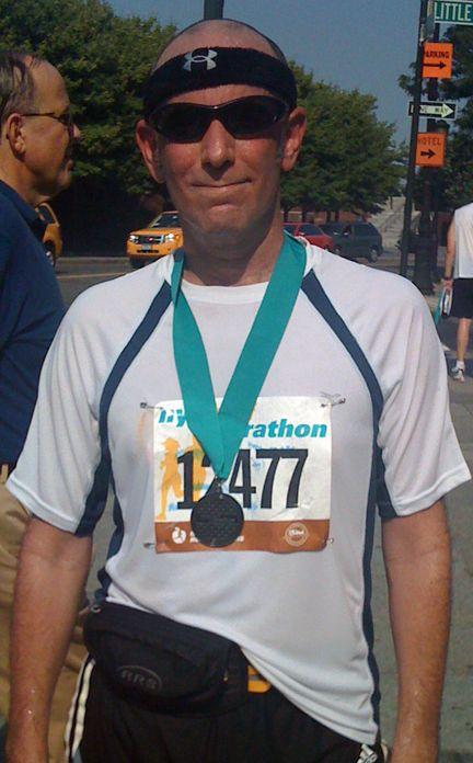 NYC Half Marathon 2009.