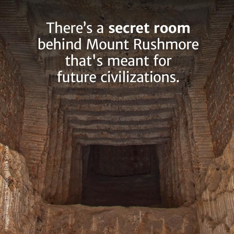 Science Hidden Facts: There's A Secret Room Behind Mount Rushmore Meant For