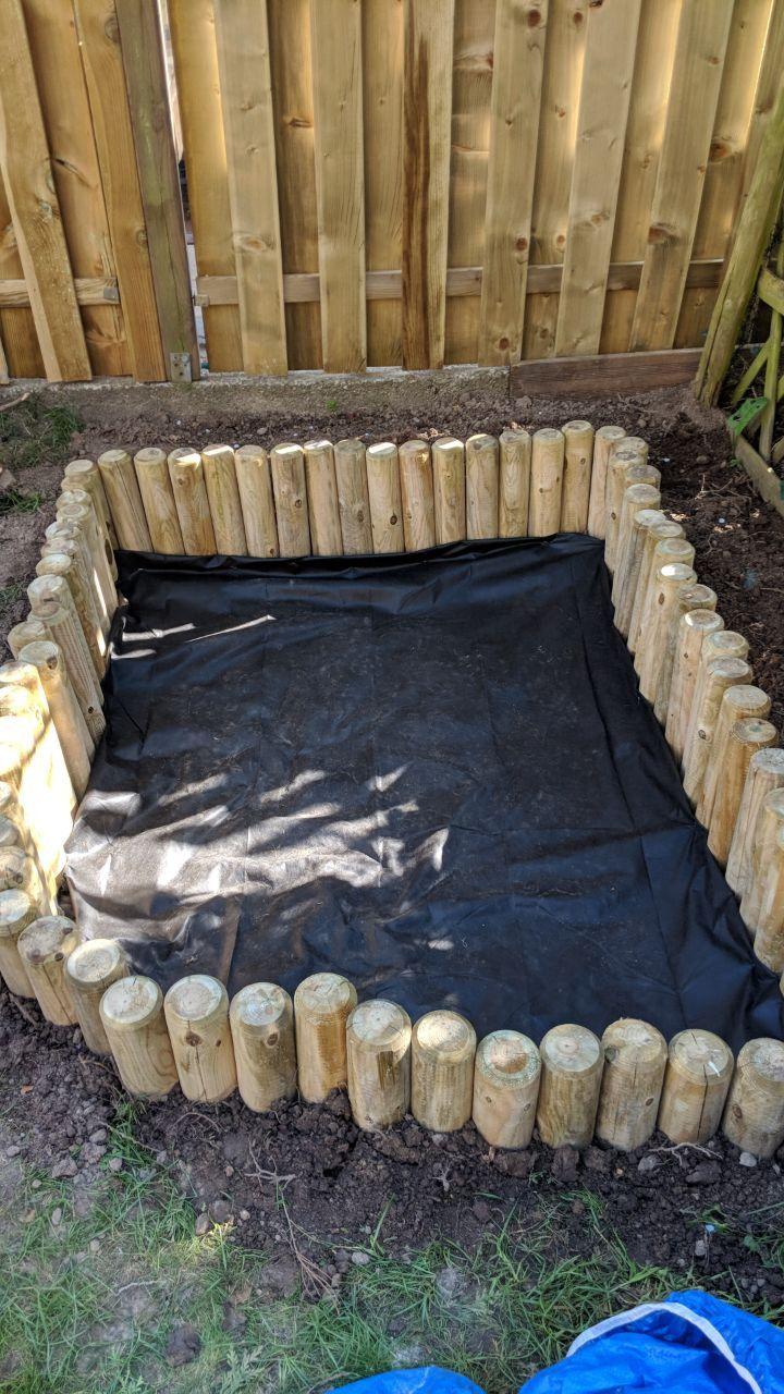 DIY Sandkasten - ein Gartenprojekt für Jedermann