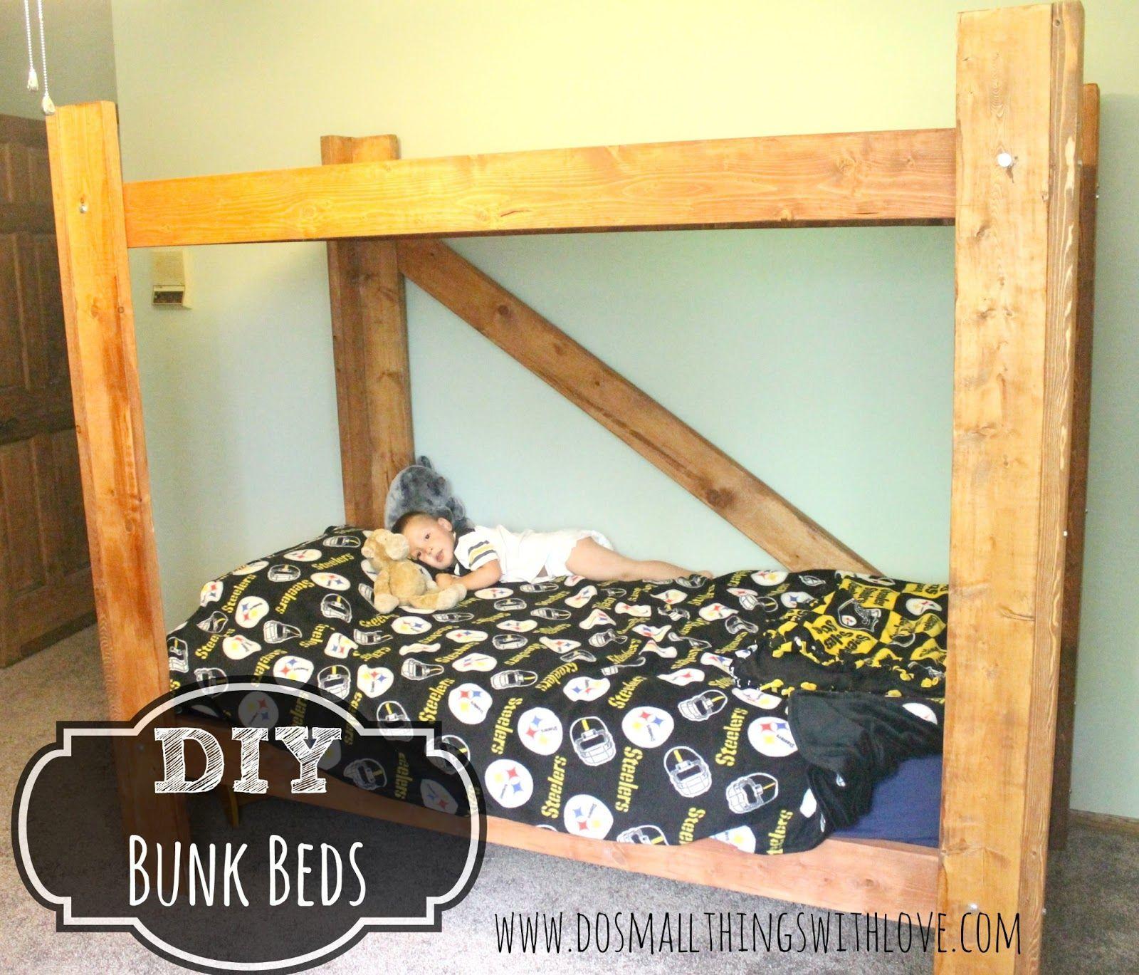 Diy kids loft bed plans  DIY Bunk Beds  Bunk bed Kids rooms and Room