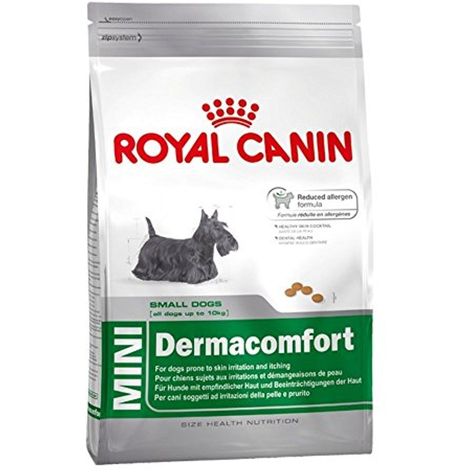 Royal Canin Mini Dermacomfort Dry Mix 1 5 Kg You Can Find Out More About The Great Product At The Image Lin Dog Food Recipes Dry Dog Food Dog Food Comparison
