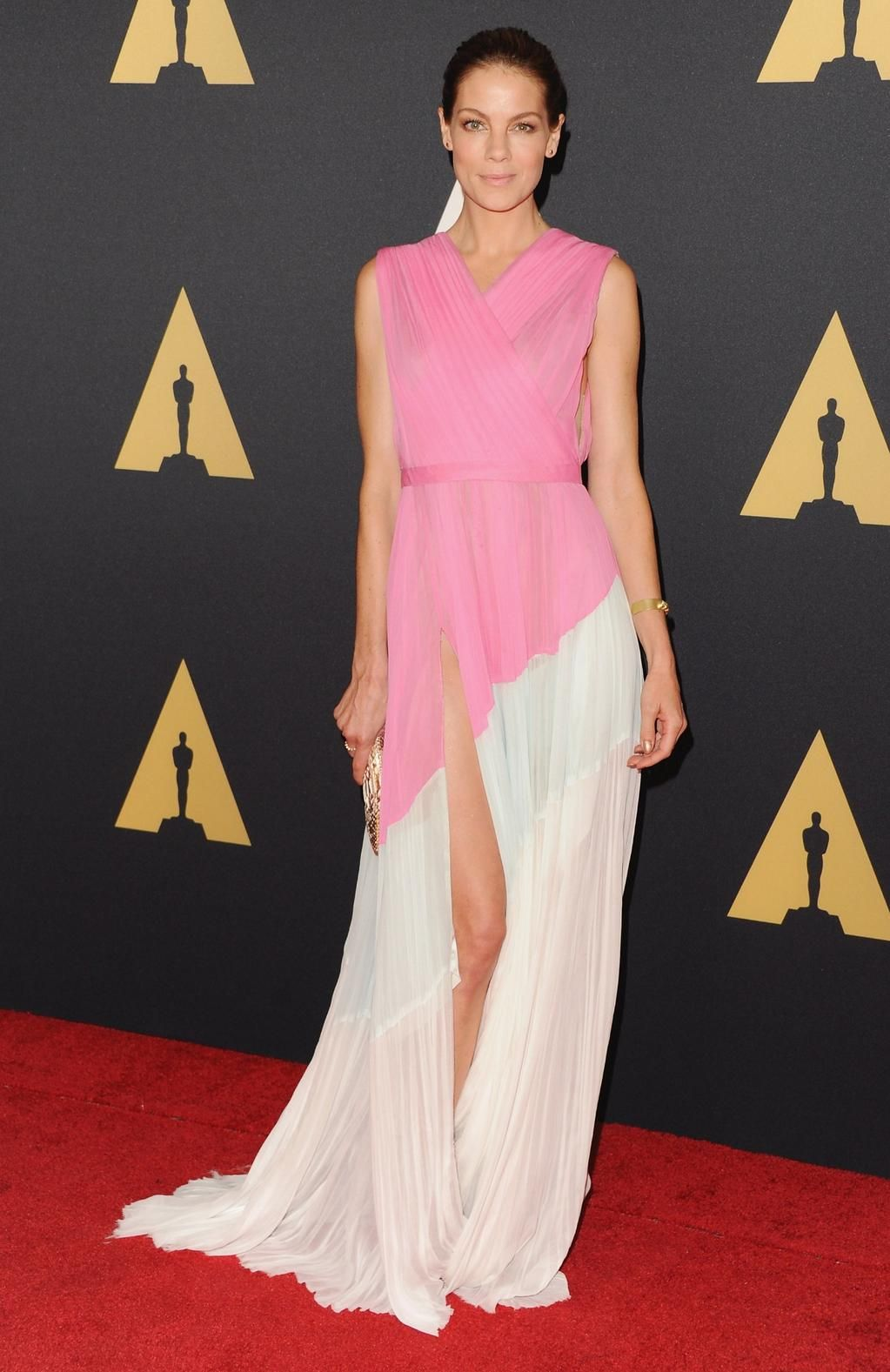Michelle Monaghan in J. Mendel | Celebrities | Pinterest