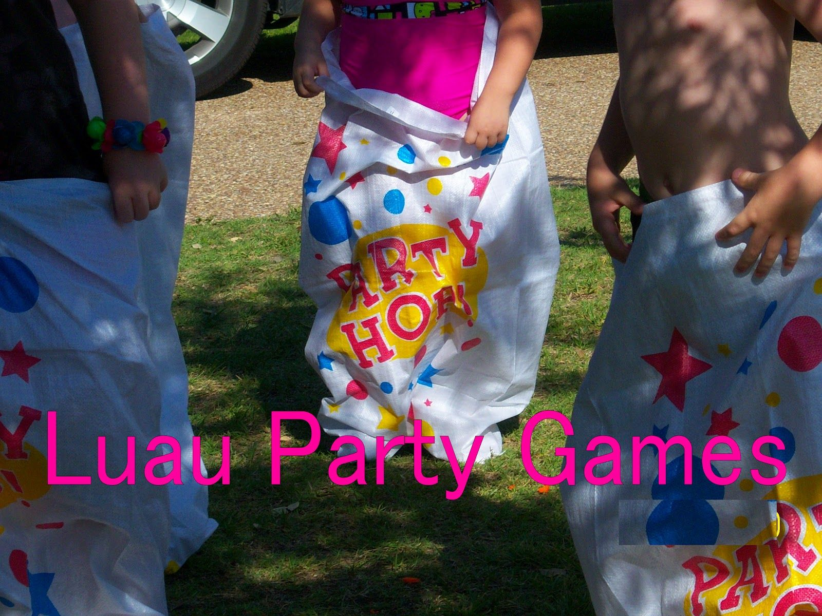luau party games luau bags beaches and 30761