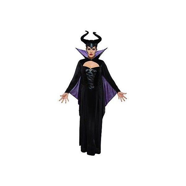 Adult Disney Villains Maleficent Fancy Dress Costume New