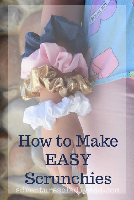 How to Make a DIY Scrunchie #hairscrunchie