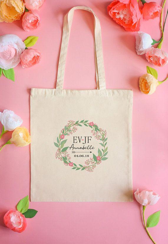 Idee Cadeau Evjf.Tote Bag Bachelorette Party Tote Bag Personalized Tote Bag