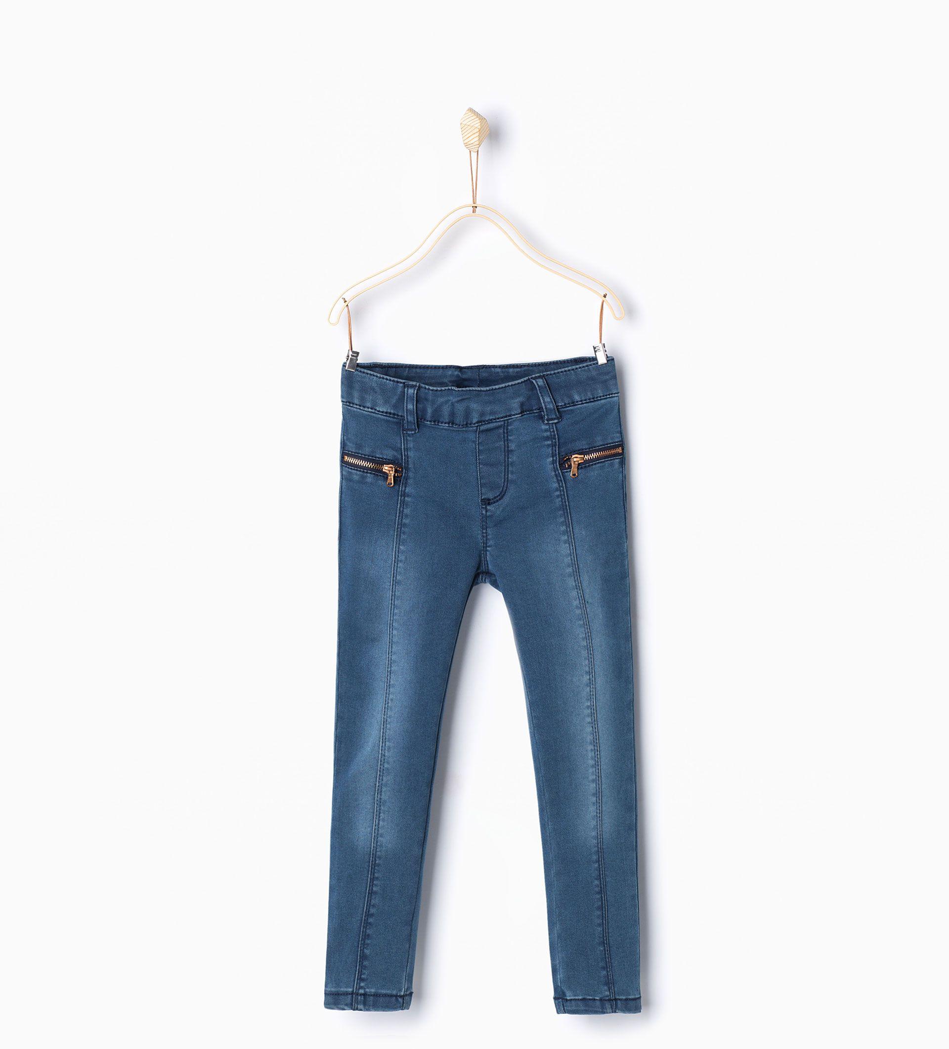 Jegging denim básico Jeans Niña | 4 14 años NIÑOS