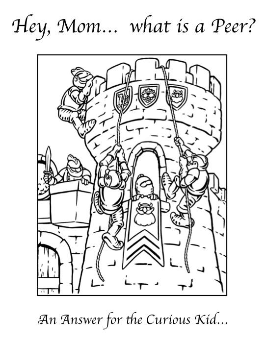 Youth Activities Eme S Compendium Castle Coloring Page Cool
